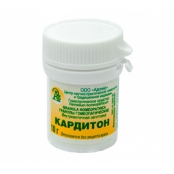 Гранулы гомеопатические «Кардитон»10гр.